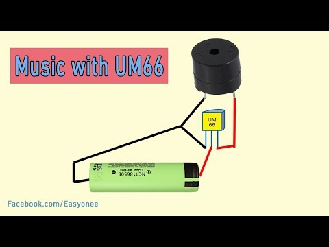 How to Make  Music with UM66 ic diy