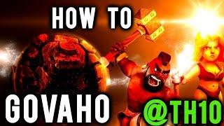 2 Golem + 5 Valky + 26 Hog Rider TH10 3 Star Attacks | GoVaHo TH10 War Strategy Clash of Clans