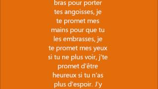 Johnny Hallyday- je te promet  lyrics