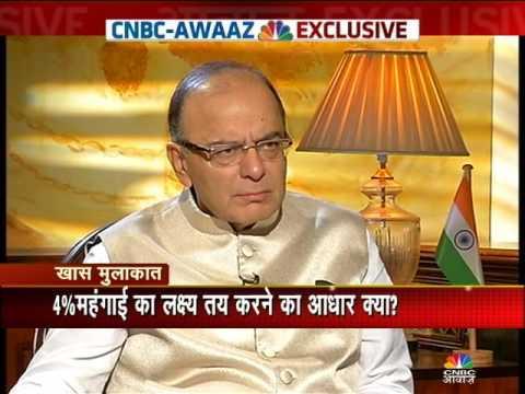 Awaaz Exclusive Interview With Finance Minister Arun Jaitley's