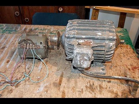 Как правильно подключить однофазный электродвигатель