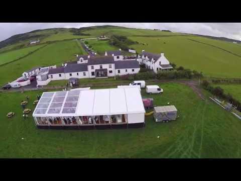 Wedding Marquee, Ballintoy, County Antrim