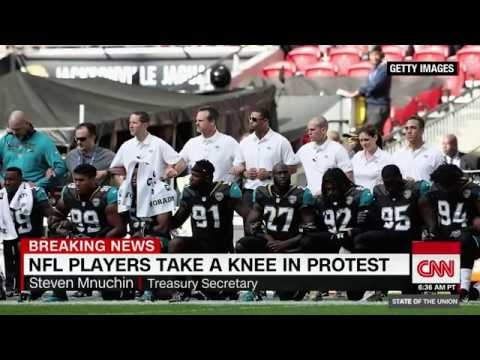 Steven Mnuchin: NFL players can protest off the field