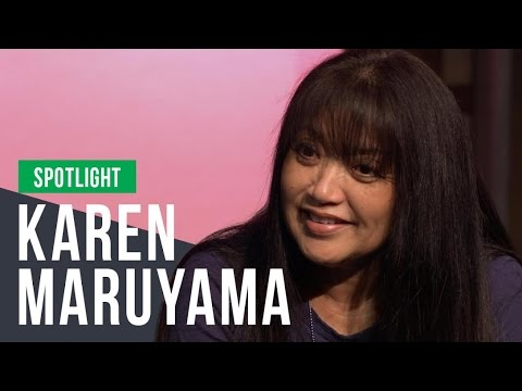 The many characters in Karen Maruyama's life