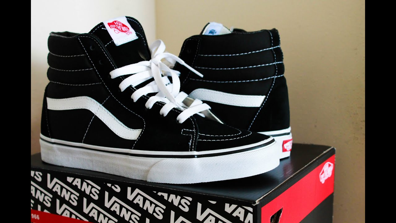 vans sk8 hi review on feet youtube. Black Bedroom Furniture Sets. Home Design Ideas