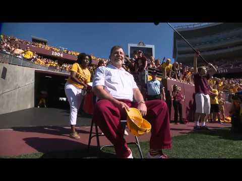 University of Minnesota President Eric Kaler Takes the ALS Ice Bucket Challenge!