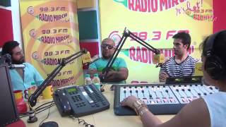 Vishal - Shekhar jam LIVE at the Radio Mirchi Studios