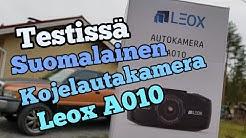 Testissä suomalainen kojelautakamera, Leox A010