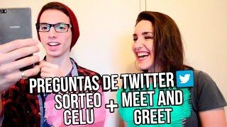 Preguntas de Twitter + Sorteo Celular y Meet & Greet