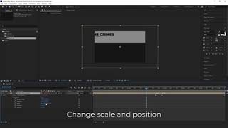 Tutorial Mogrts. How to change aspect ratio and colors.