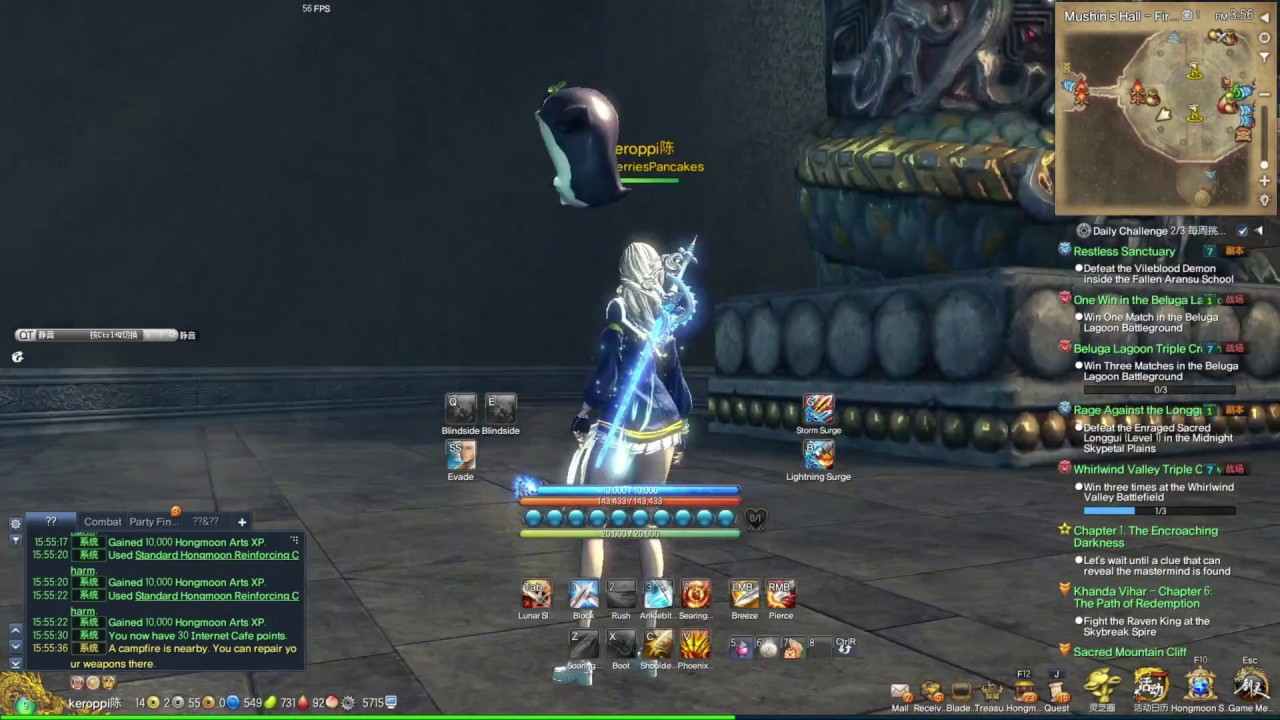 [CN] Blade and Soul Blade Master - Swords & Gear