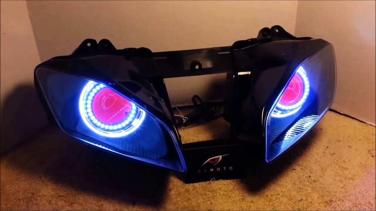 Angel eyes led lights-8133