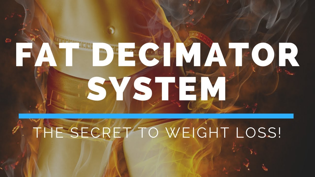 Fat Decimator System Review Don T Buy It Before You