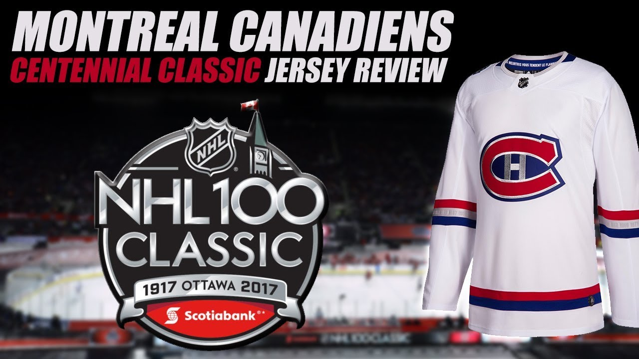fb9258eb99e Montreal Canadiens Centennial Classic Jersey Review - YouTube