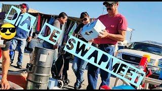 Dia de pulgas 😁 vendo en el Swapmeet LO QUE TIRAN EN USA