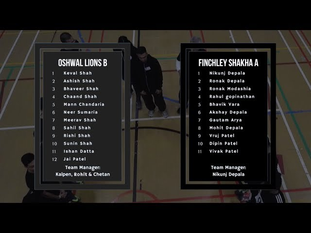 Game 22 - Kho Kho England | Oshwal Lions B (M) vs. Finchley Shakha A (M)