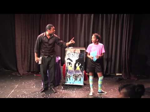 Magician Mystique Performance at Holiday's In Color Show 2013