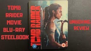 Tomb Raider Movie Blu-Ray Steelbook: Tomb Raider Movie Steelbook