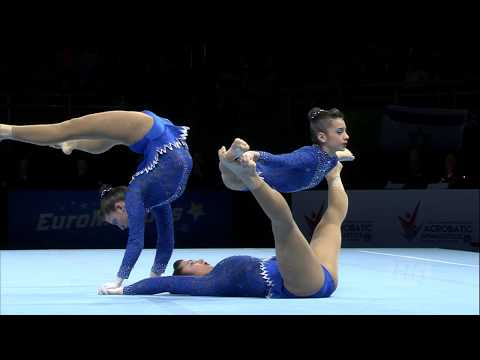 2018 Acrobatic Worlds – Portugal, Women's Group Qualifications