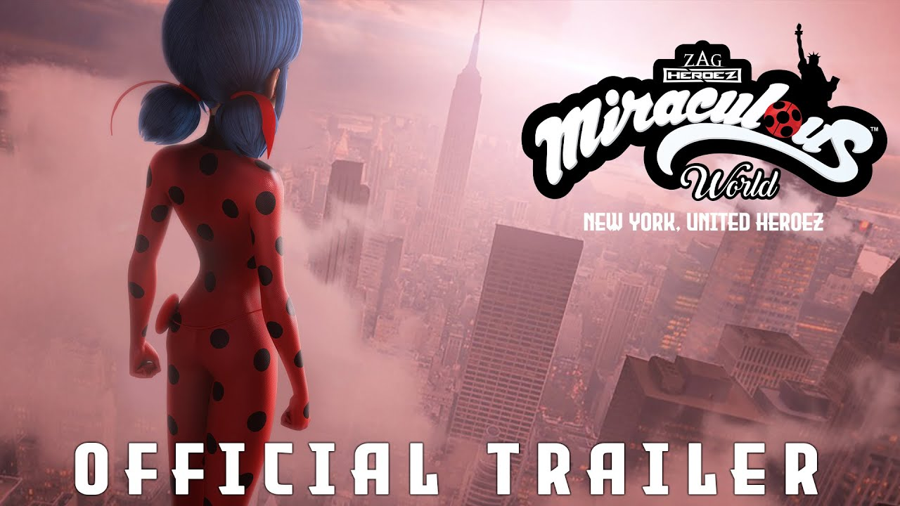 MIRACULOUS WORLD | ⭐ New-York, United Heroez Official Trailer ???? | Sept.25 - 8PM on Disney Channel