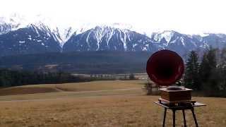 Servus Wien 1 Teil - Lajos Barany & Alfred Strauß - Grammophon 78 Rpm