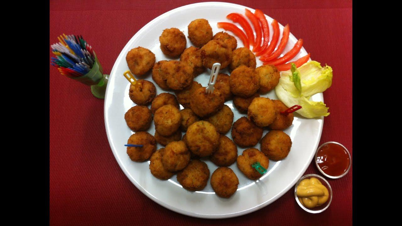 Receta deliciosas croquetas de arroz f ciles y r pidas - Comidas economicas y faciles ...