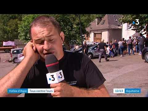 Interview d'Olivier Maurin, porte-parole des manifestants anti-ours