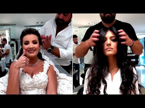 Bridal Hairstyles!  Wedding Hairstyle Compilation By Mounir