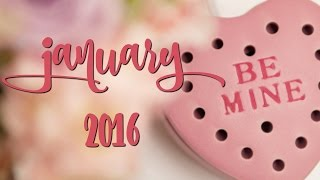 Scentsy Warmer & Scent of the Month, January 2016 - Be Mine & Cherished