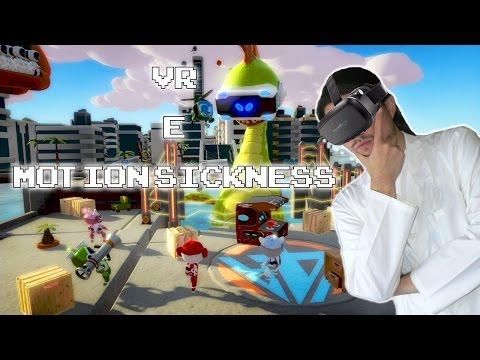 VR e Motion Sickness
