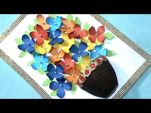WOW !!! DIY Paper Wall Hanging | Paper Craft | Room Decor | #RS crafts