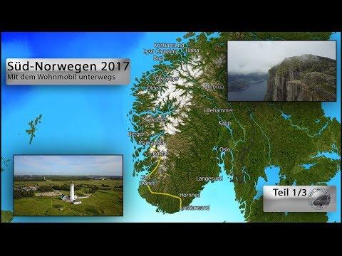 Süd-Norwegen Sommer 2017 Teil 1/3 (Mit dem Wohnmobil unterwegs)