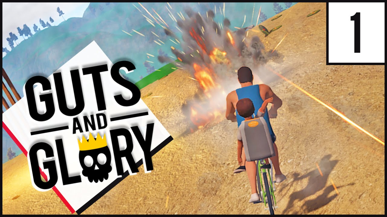 Guts and Glory Gameplay: Happy Wheels 3D | Let's Play Guts and Glory ...