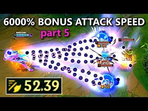 30.00+ ATTACK SPEED MONTAGE 5! (Aphelios, Garen, Olaf, Yasuo, Malphite & More!)