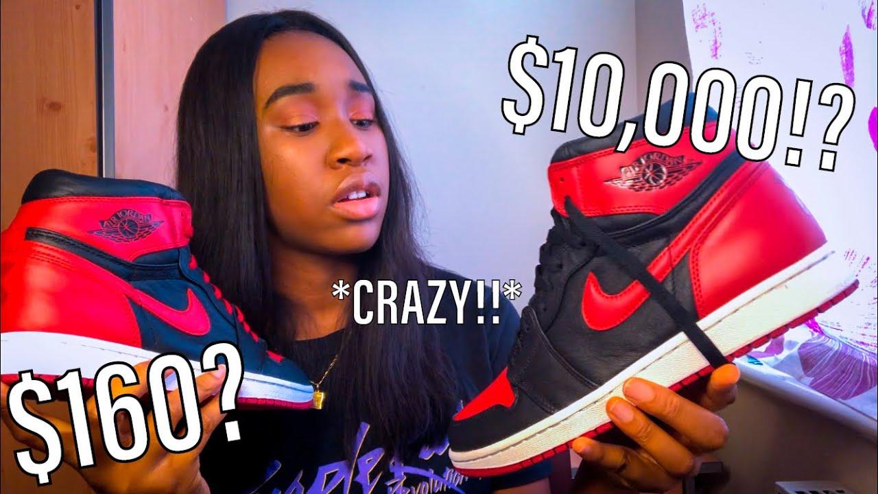 "Should YOU Buy REPLICA SNEAKERS? | GymKicks Air Jordan 1 ""Banned"" Review!"