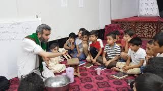 كيف تتعلم الوضوء مع الأستاذ الخطيب الحسيني سيد علي الجابري