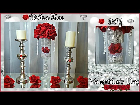 DOLLAR TREE  DIY | Valentine's Day 2017 | Glam...