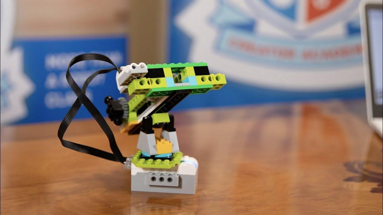 Lego Wedo 2 0 Ballista Demonstration Youtube