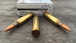 5.56x45mm, 55gr FMJ, Winchester White Box (Q3131) Velocity Tests