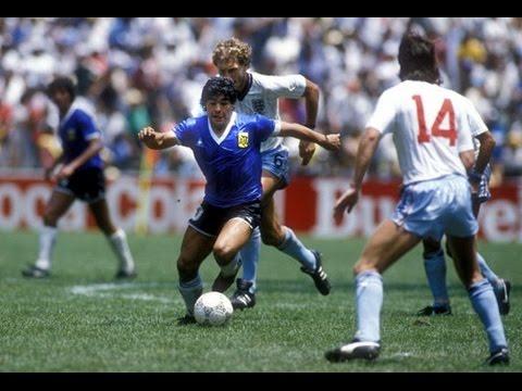 Diego Maradona Vs Inglaterra Archivo Youtube