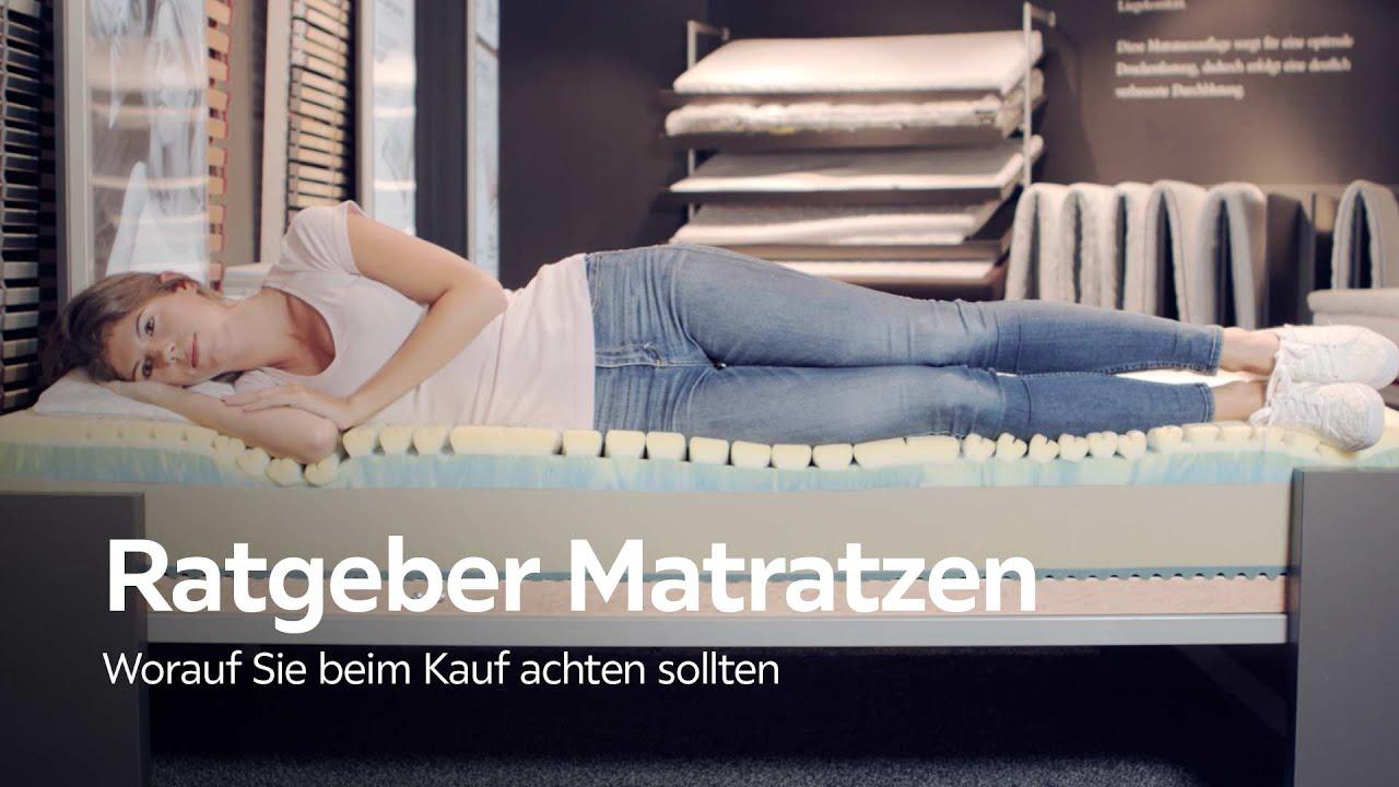 matratzen test welche matratze ist die richtige f r mich xxxlutz matratzen beratung youtube. Black Bedroom Furniture Sets. Home Design Ideas