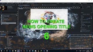Oluşturma Adobe After Effects - 6 Haber Açılış Başlığı Parçası
