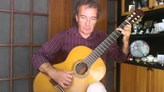 Atlas UFO Robot - Goldrake (Classical Guitar Arrangement by Giuseppe Torrisi)