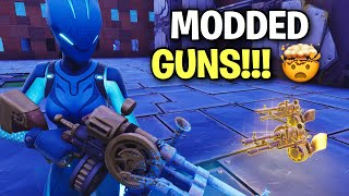 Crazy Scammer has insanely Modded Guns! 🤯 (Scammer Get Scammed) Fortnite Save The World