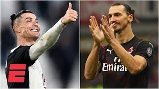 SERIE A Los tres goles de Cristiano y cómo fue el regreso de Zlatan a Italia en el RESUMEN DE GOLES