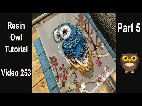 Resin Art for beginners/ start to finish/ Amazing end result 😀