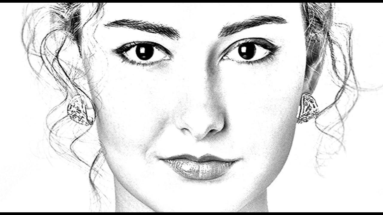 Photoshop Tutorial: How to Transform PHOTOS into Gorgeous, Pencil ...