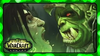 WOW Legion ► Broken Shore Cutscenes - Deaths of the Old Leaders and Rise of the New Ones