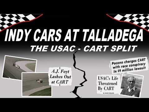 Indy Cars At Talladega: The Wild Story Of The 1979 USAC-CART Split