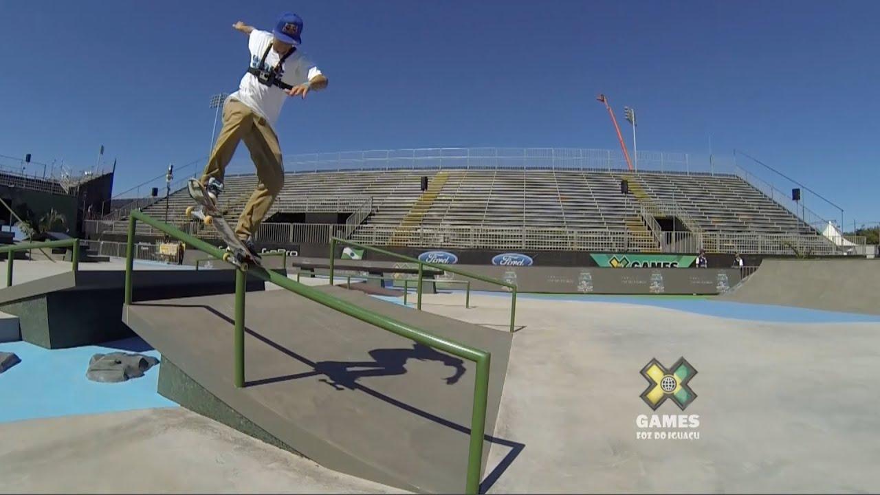 GoPro: Ryan Sheckler Skateboard Street Course Preview